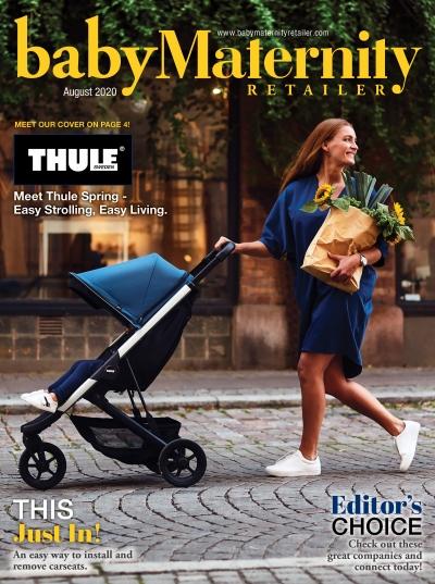 Baby Maternity Retailer Magazine Cover